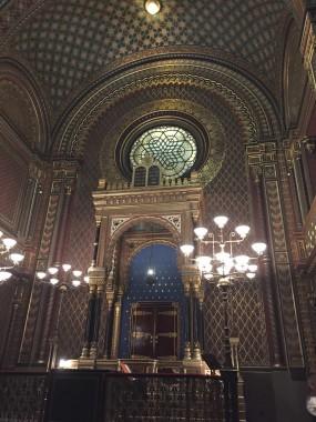 synagogue espagnole Prague 1085