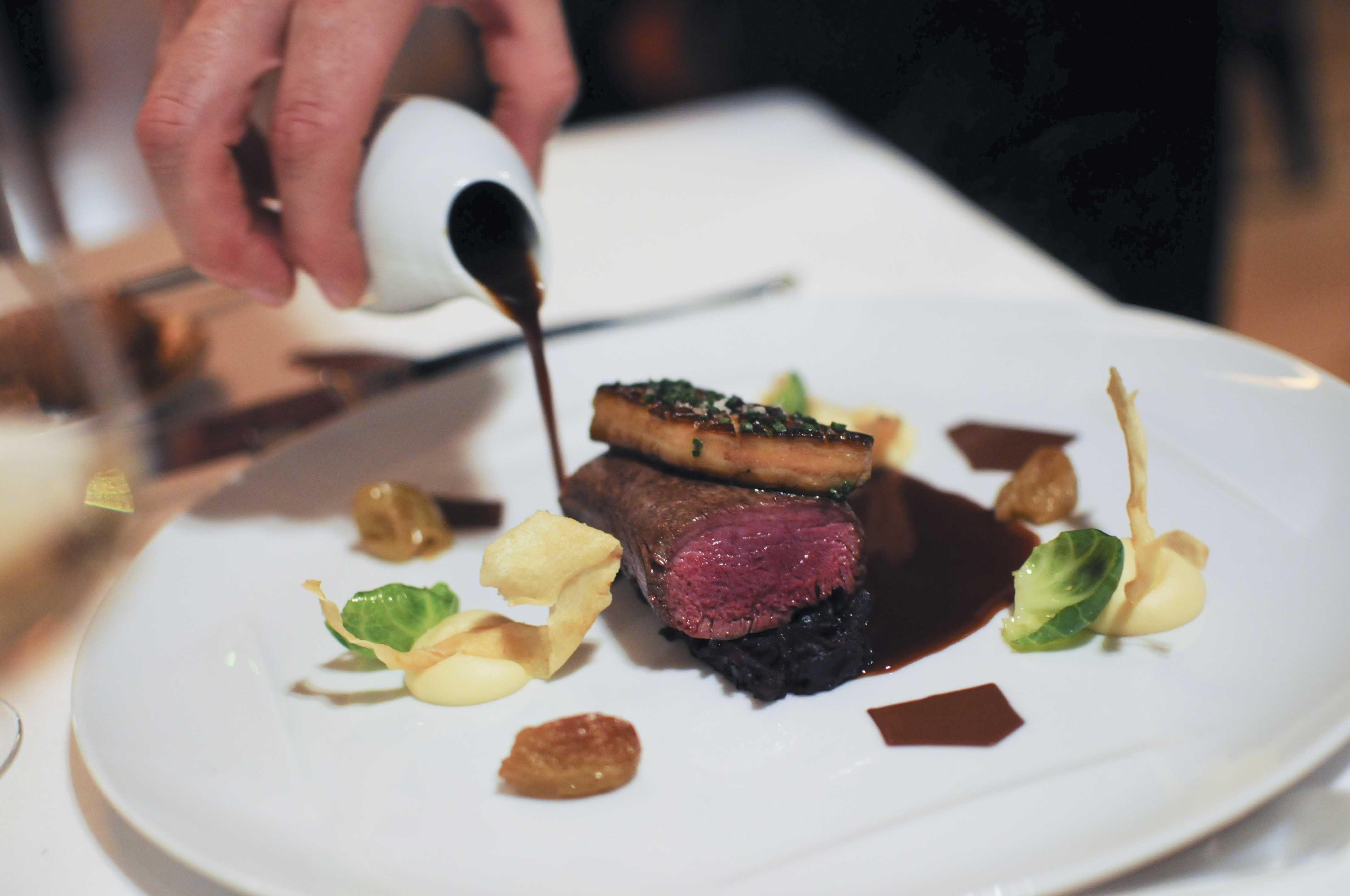 Chevreuil le pressoir d argent gordon ramsay 37 for Le pressoir restaurant