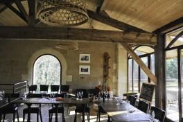 Chateau de Leognan restaurant Le Manège