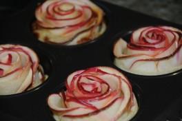 pomme forme de rose