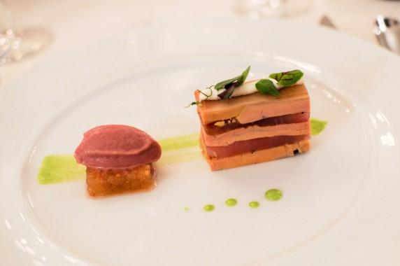 Foie gras et Fera fumée