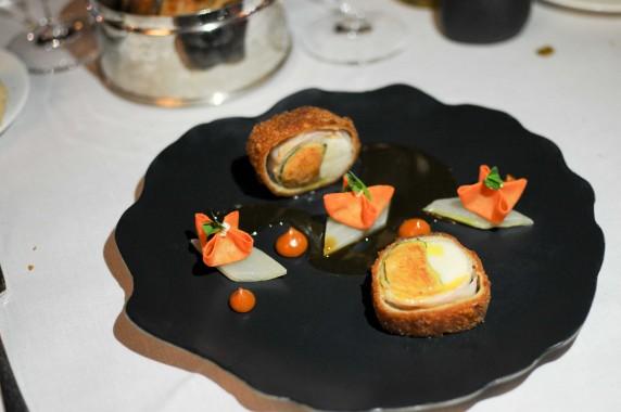 lapin et foie gras Domaine de Manville (64)