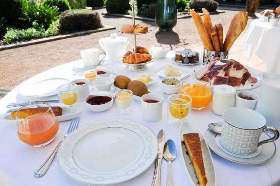 Petite déjeuner Chateau d'Adoménil