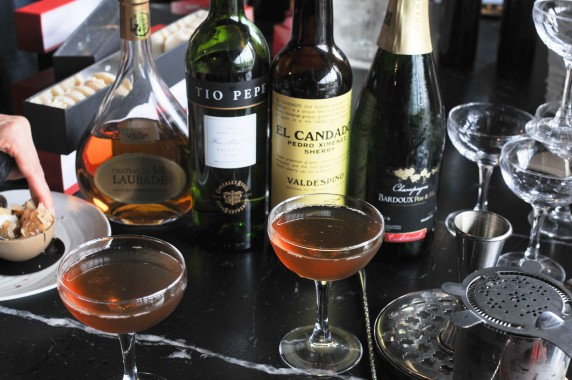 cocktail champagne cognac