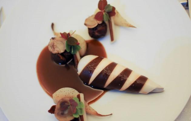 Grouse bicolore, châtaigne et poire Thierry Marx Mandarin Oriental Paris (19)