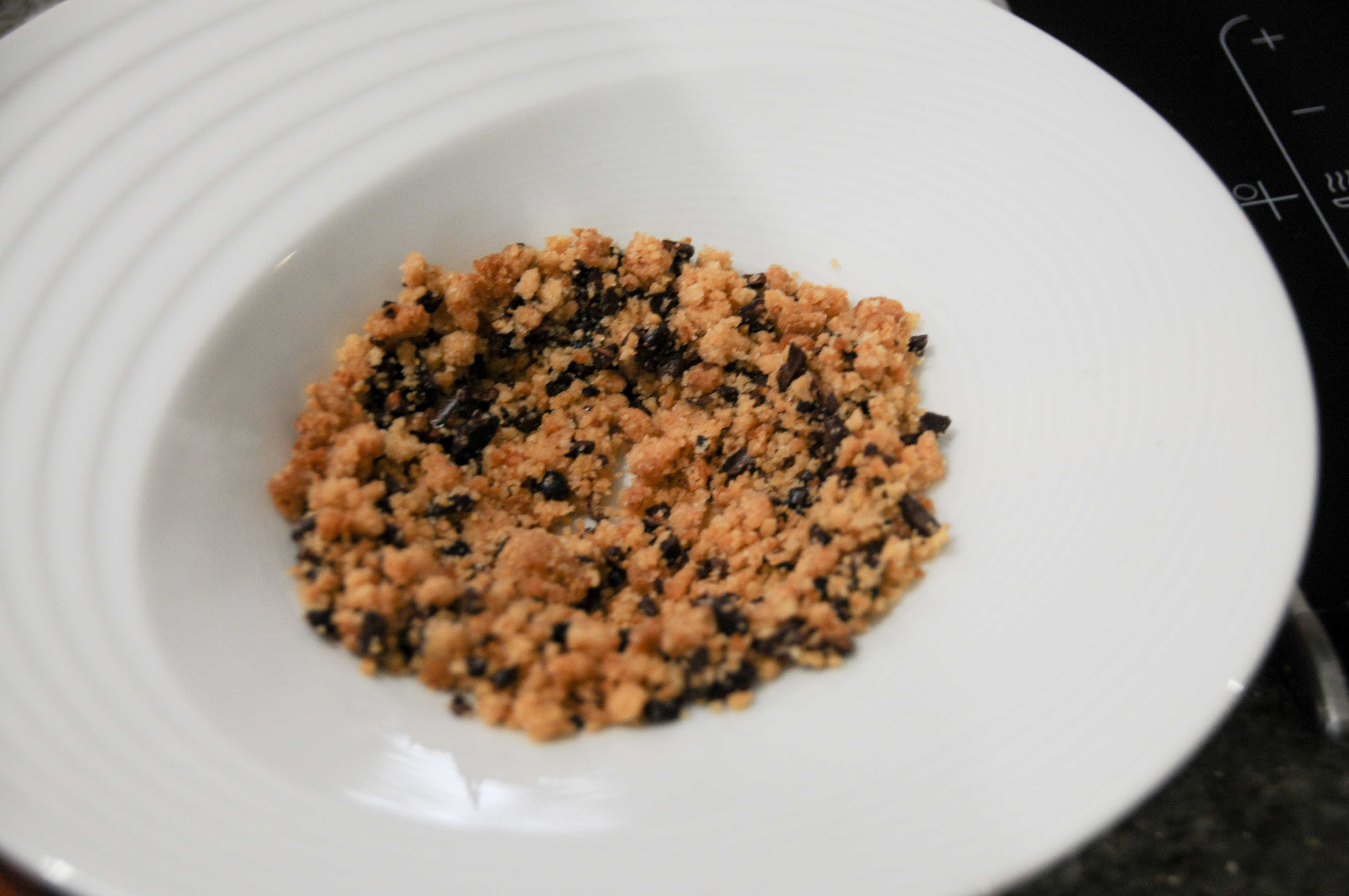 recette de michel sarran mousse haricots coco marron