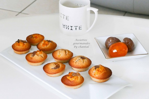financier mandarine marron 1