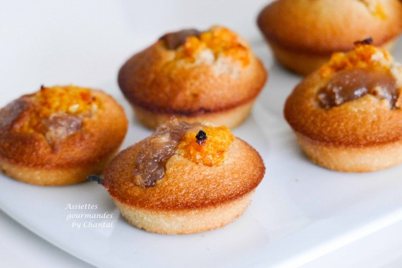 financier mandarine marron 3