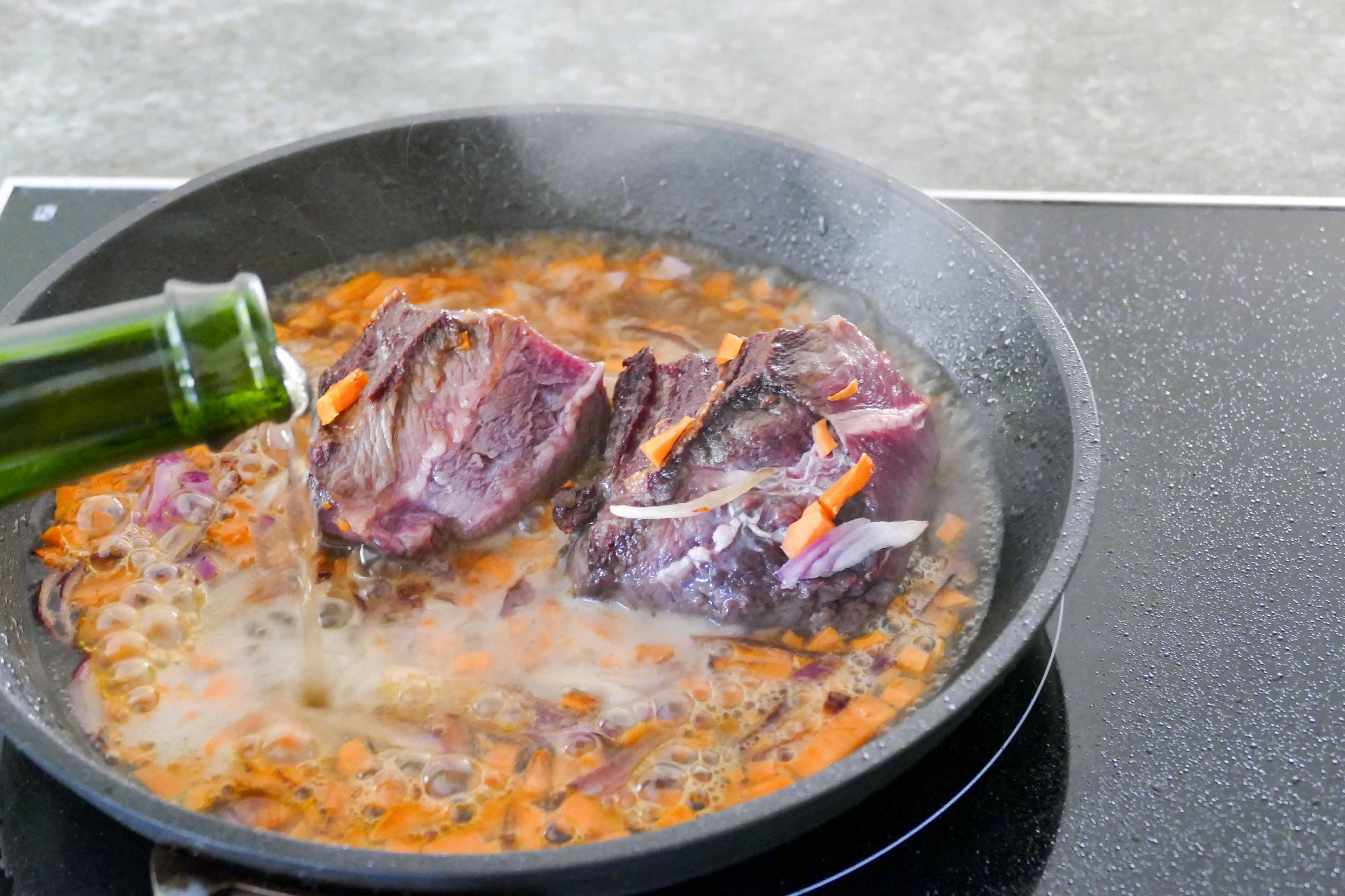 Cuisiner de la joue de boeuf 28 images cuisiner la - Cuisiner de la joue de porc ...