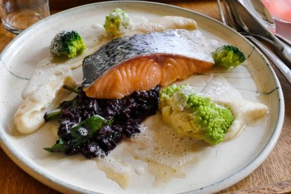 saumon basse température