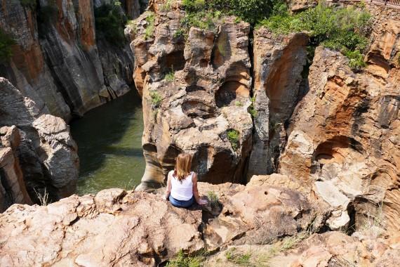 Blyde canyon river