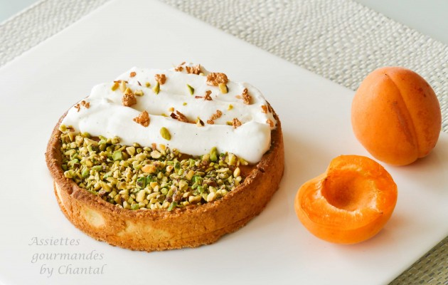 tarte abricot caramel 1