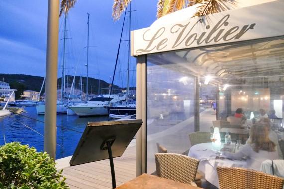 Restaurant le voilier bonifacio for Restaurant bonifacio port