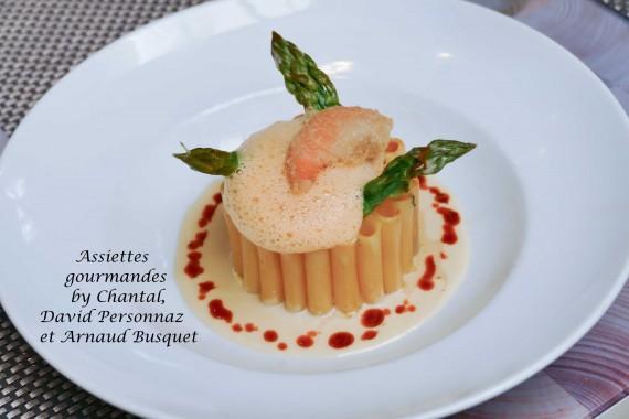recette restaurant Le M 1