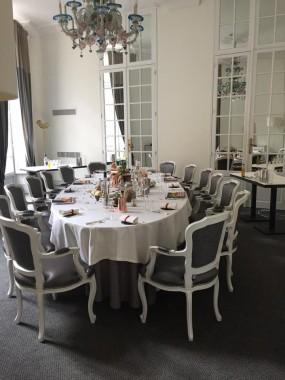 table Gabriel diner mixologie