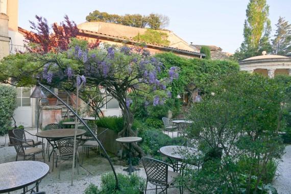 terrasse Clair de la Plume Grignan