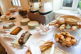 Petit déjeuner Le Prieuré Baumanière (15)