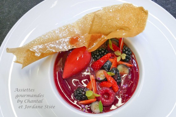 recette mousse fruits rouges 2