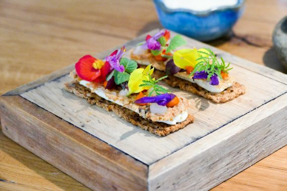 Alexandre Mazzia - restaurant AM - Tartine végétale