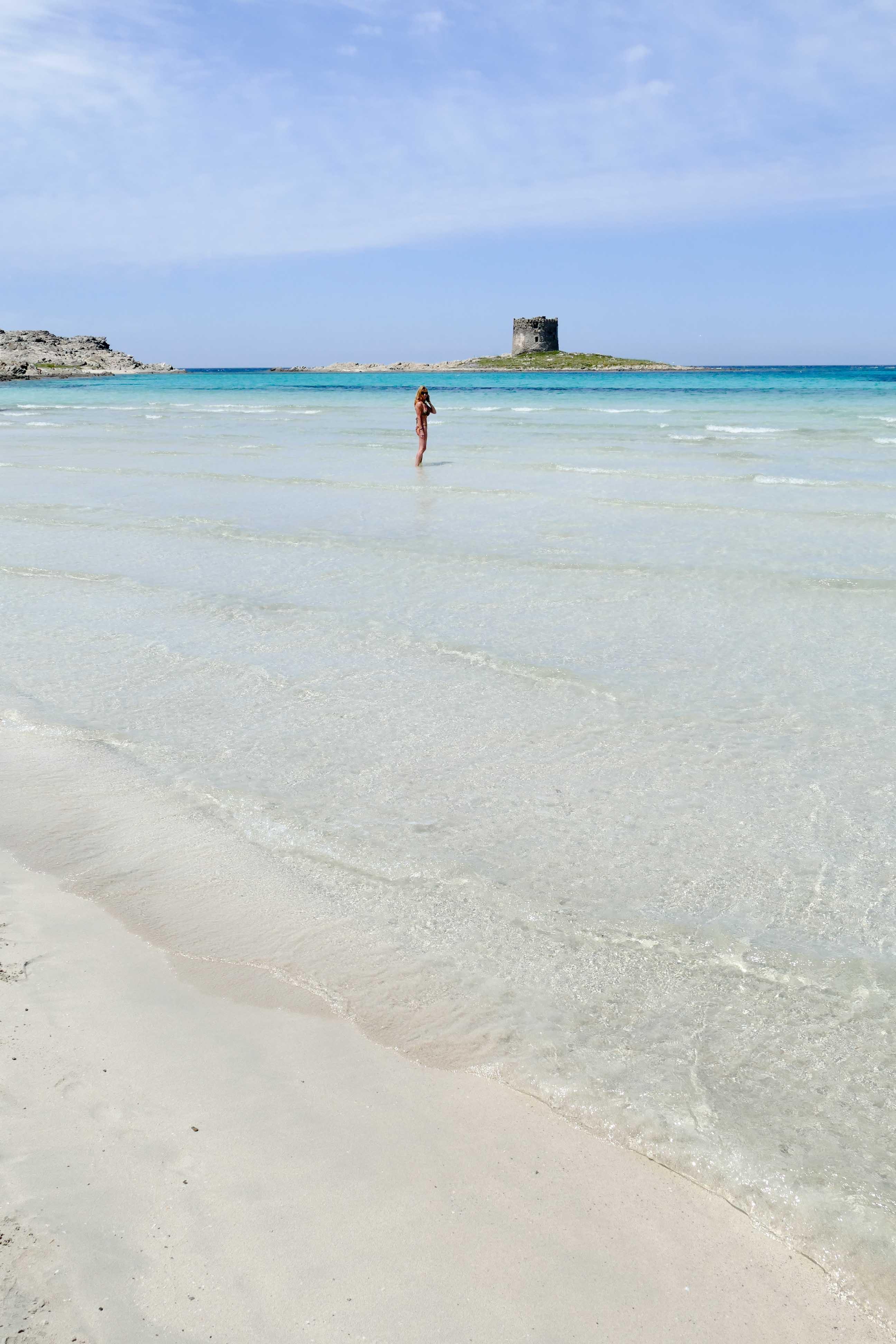 plage de La Pelosa - Sardaigne