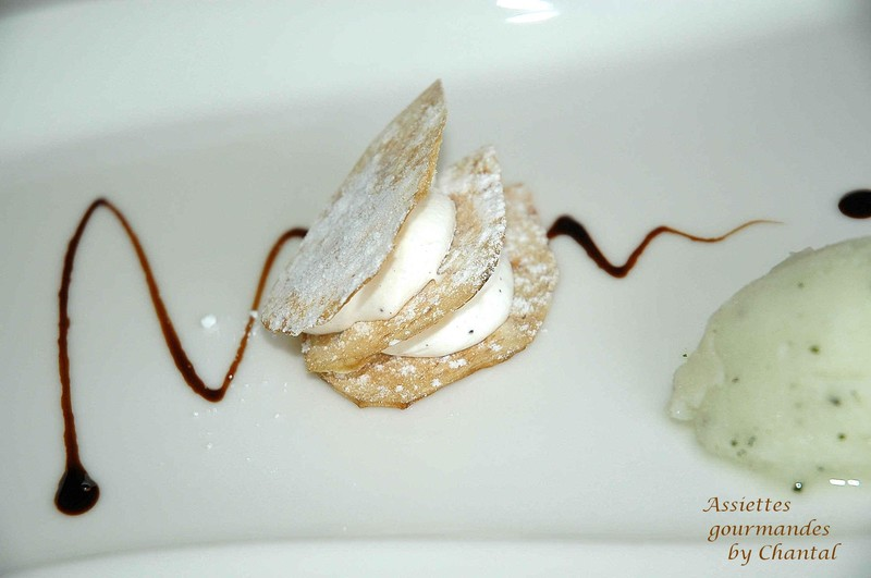 Semaine spéciale Cordeillan-Bages: ...plagiat d'un dessert de Thierry Marx...