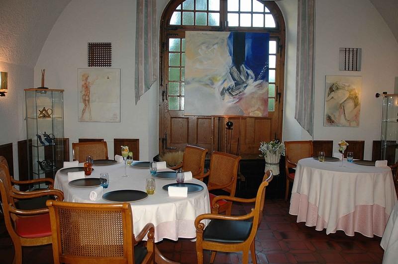 Dîner chez Denis Martin à Vevey en Suisse
