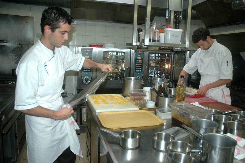 Dans les coulisses du Restaurant le Belvédère à Porto-Vecchio