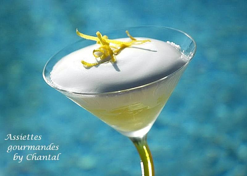 Nouveau cocktail: Gin Fizz... revu et corrigé au siphon!