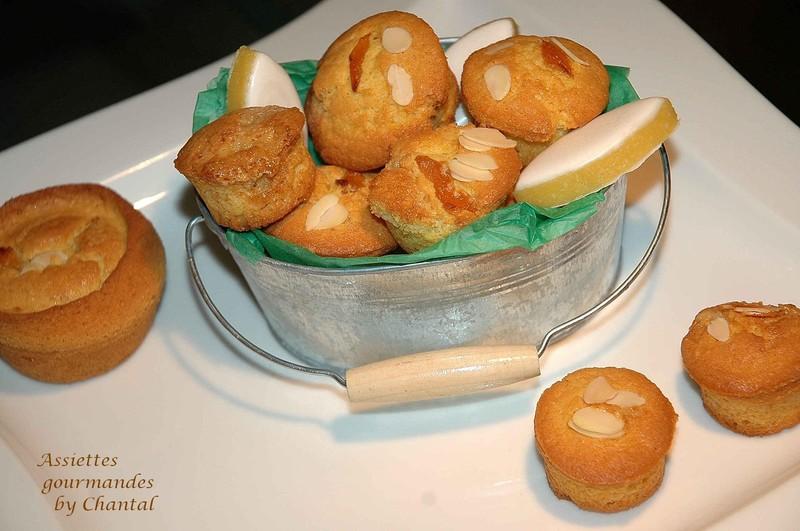 Muffins à la crème de calisson