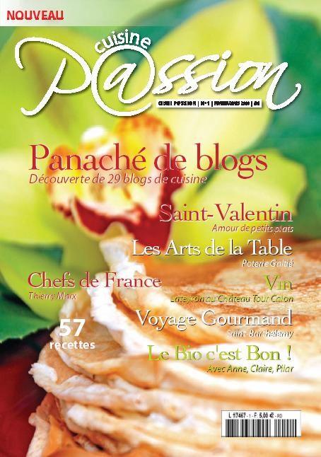 Cuisine passion: 57 recettes de blogs de cuisine