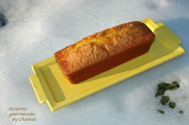 Recette d'Alain Ducasse: cake citron gingembre... et news du concours Easy Marx...