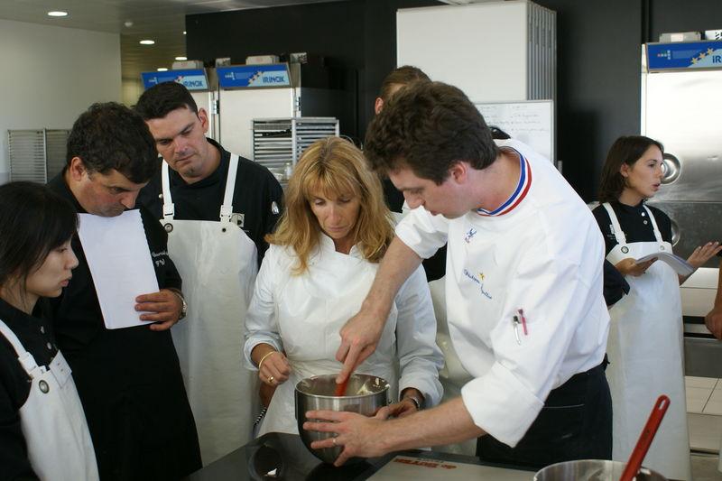 Ecole de Pâtisserie Olivier Bajard, 3 jours avec Philippe Rigollot