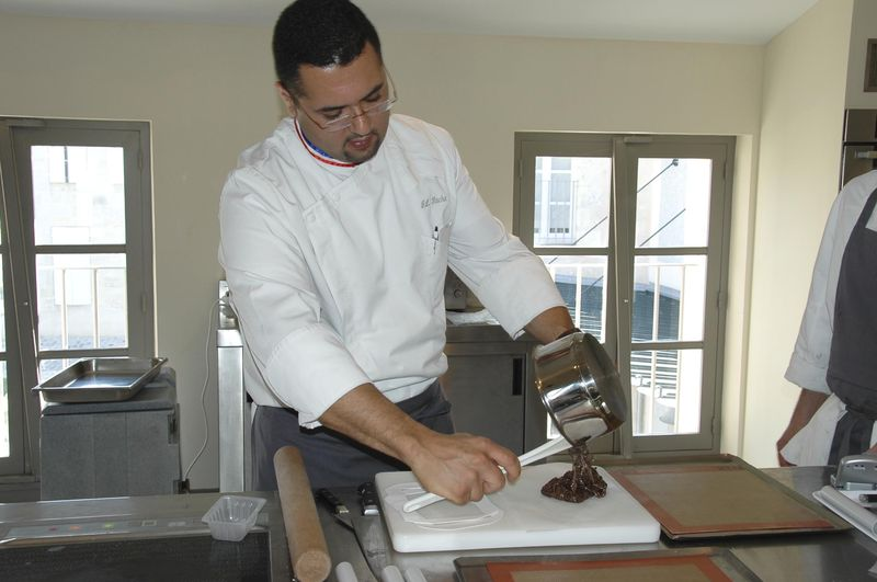 Cours de cuisine chez Thierry Marx avec Jean Luc Rocha