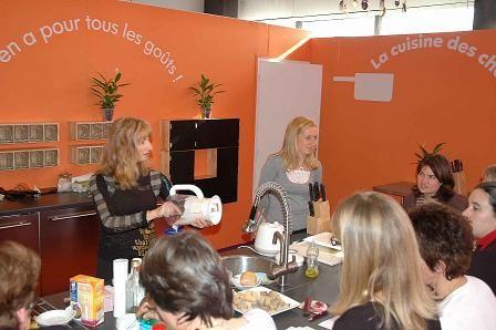"""Ateliers Cuisine """"Passions Créatives"""", Bordeaux Conforexpo 2008"""
