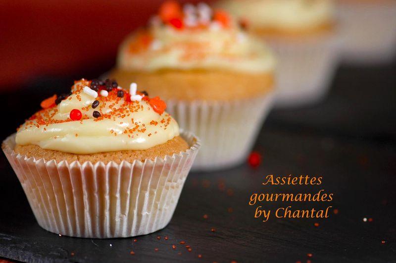 Cupcakes pour Halloween... ou pour une pause café!