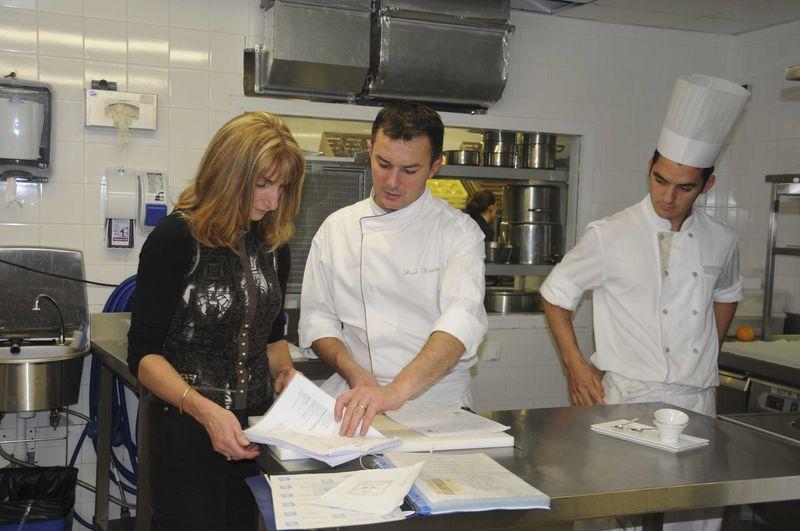 Déjeuner au Pressoir d'Argent, Grand Hôtel de Bordeaux... et visite des cuisines