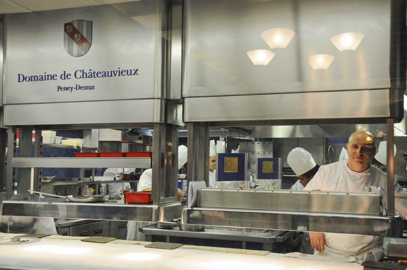 Diner chez Philippe Chevrier à Genève, Domaine de Châteauvieux