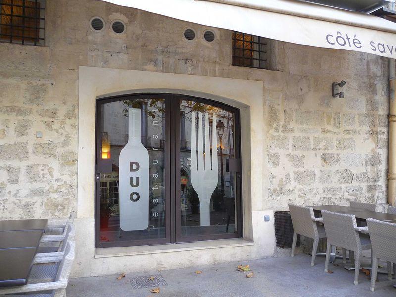 """Tempête... et Restaurant """"Le Duo"""" à Montpellier"""
