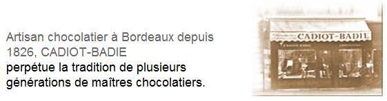 Chocolats Cadiot-Badie: une institution à Bordeaux
