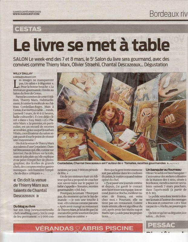 Thierry Marx: rencontre interactive à Cestas le 7 mars