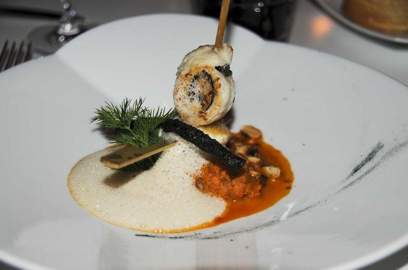 Restaurant l\'Oiseau Bleu (Frédéric Lafon) à Bordeaux -