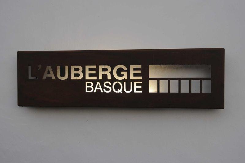 Diner à l'Auberge Basque à Saint-Pée-sur-Nivelle (Chef Cédric Béchade)