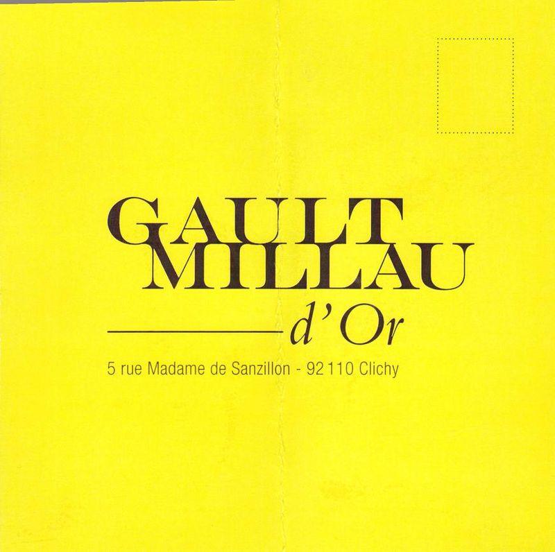 Déjeuner de presse pour le Gaut Millau d'Or de Pascal Nibaudeau au Pressoir d'Argent