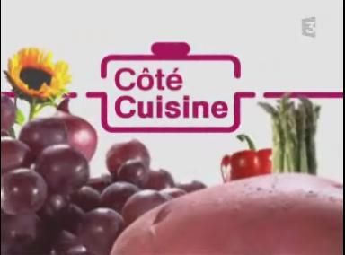 Coté cuisine : nouvelle émission sur France 3, avec Julie Andrieu, un Chef et...