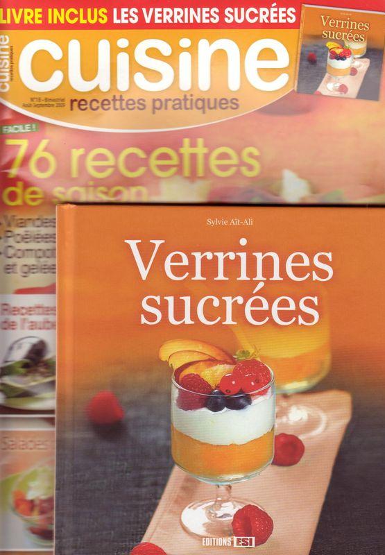 """Magazine: """"Cuisine Recettes pratiques"""""""