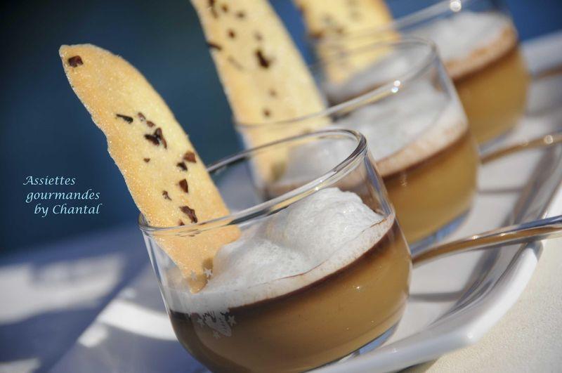 Café chocolat en chaud froid et son écume de cardamome