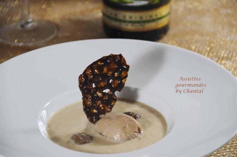 Crème de marron au Bailey's pour un dessert très gourmand!