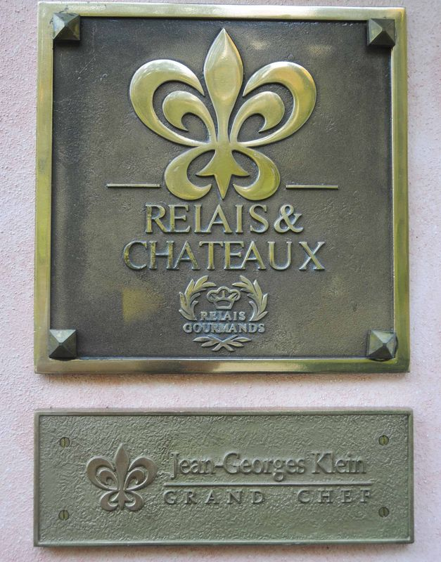 Déjeuner chez Jean Georges Klein à l'Arnsbourg (3 étoiles Michelin)