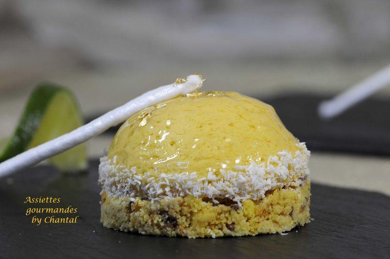 Key lime pie ou tarte au citron vert from Florida