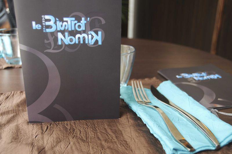 Déjeuner au Bistrot' Nomik à Bordeaux